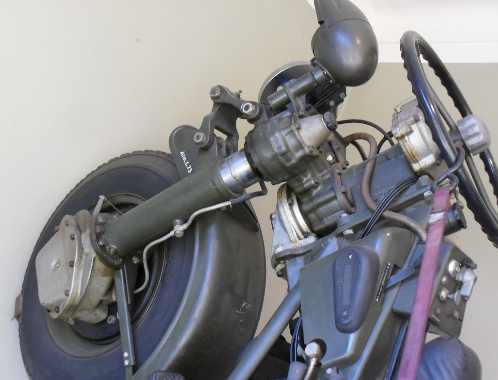 Moto Guzzi Mechanical Mule in Moto Guzzi factory museum.